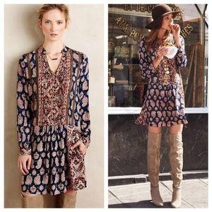 Anthropologie long sleeve dress